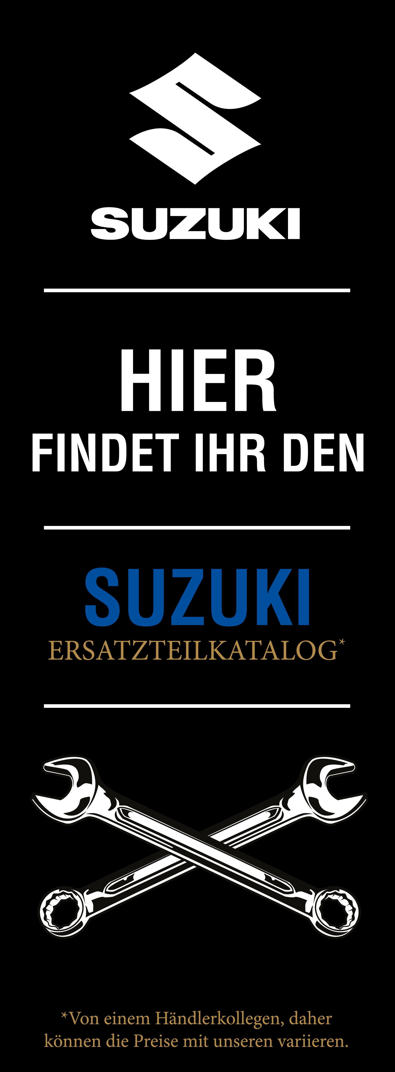 Suzuki Banner Website Ersatzteilwesen